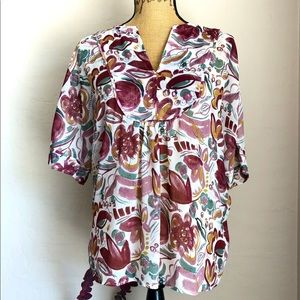 🕶2$30Two by Vince Camuto Blouse XS
